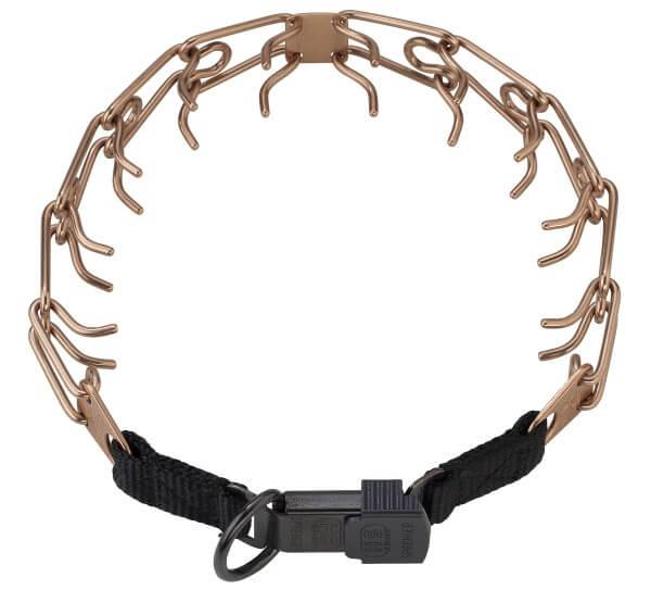 Sprenger Stachelhalsband mit Klickverschluss, Curogan