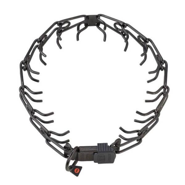 Stachelhalsband / Dressurhalskette, Edelstahl rostfrei, Klickverschluss