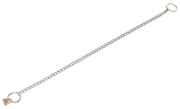 Halsband für Hundeausstellungen / Ausstellungshalsband, rundgliedrig, Edelstahl rostfrei, 2mm / HS Sprenger