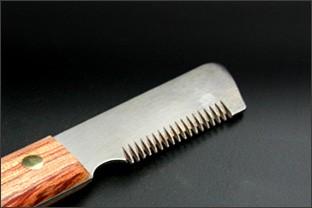 Trimmmesser für Rechtshänder - scharf geschliffen