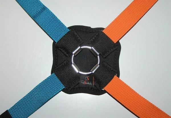 Clip-Switch-4-Punkt-Gurtpolster aus Neopren