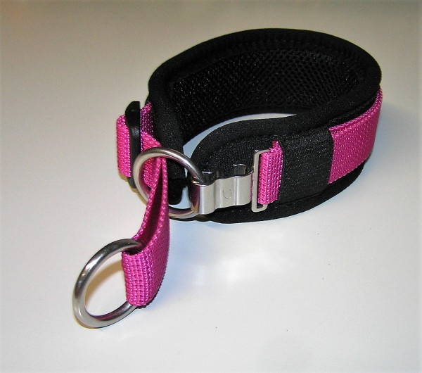 Clip-Switch-Hundehalsband mit variablem Zugstopp