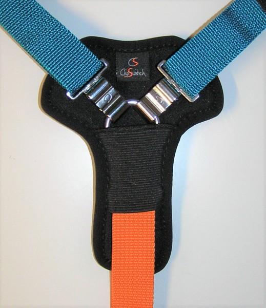 Clip-Switch-3-Punkt-Gurtpolster aus Neopren